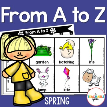 From A to Z- Spring Edition