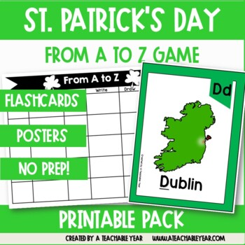 From A to Z- St. Patrick´s Day Edition