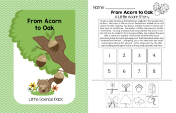 From Acorn to Oak - Little Science Pack