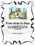 From Ares to Zeus: Greek gods and goddesses