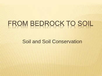 Soil and Soil Conservation