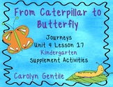 From Caterpillar to Butterfly Journeys Unit 4 Lesson 17 Kindergarten