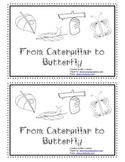 From Caterpillar to Butterfly Printable Book