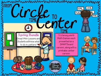 From Circle to Center - Spring Bundle