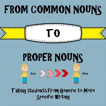 From Common to Proper Nouns
