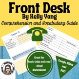Front Desk Comprehension Questions and Vocabulary Guide