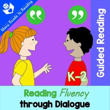 Teach Fluency through Dialogue in 4 Steps: Grades K-1