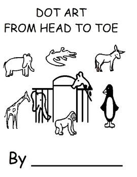 From Head To Toe Dot Art