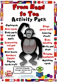 From Head to Toe Activity Pack - body, animals, actions -