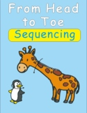From Head to Toe Eric Carle Sequencing Text Activity