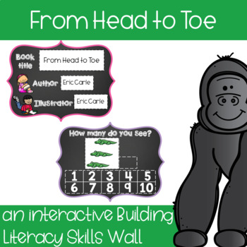 From Head to Toe - an interactive skill building wall