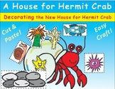 A House for Hermit Crab by Eric Carle Craftivity