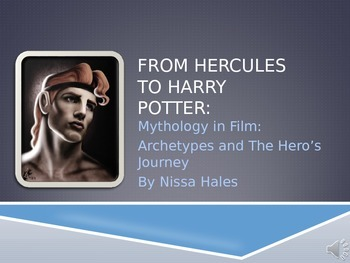 Mythology: From Hercules to Harry Potter - Archetypes & th