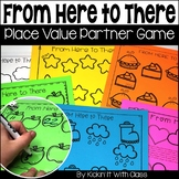 From Here to There {place value game}