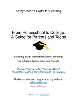 From Homeschool to College: A Guide for Parents and Teens