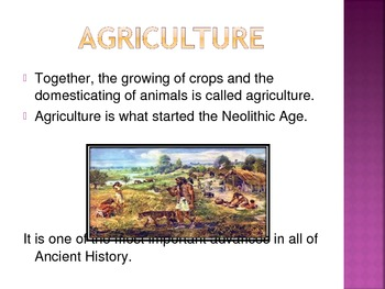 From Hunters and Gatherers to Farmers