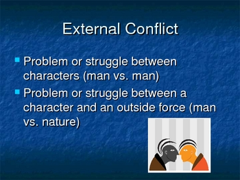 From Plot to Conflict