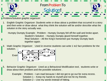 From Problem To Solution