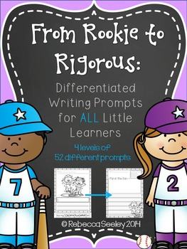 From Rookie to Rigorous: Differentiated Writing Prompts for ALL Little Learners
