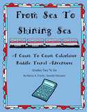 From Sea To Shining Sea: A Calculator Riddle Travel Adventure