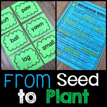 From Seed to Plant Journeys 2nd Grade