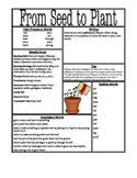 From Seed to Plant Comprehension Unit