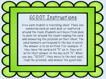 From Seed to Plant Irregular Verb SCOOT