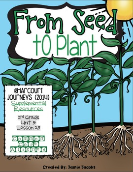 From Seed to Plant (2nd Grade - Supplemental Materials)