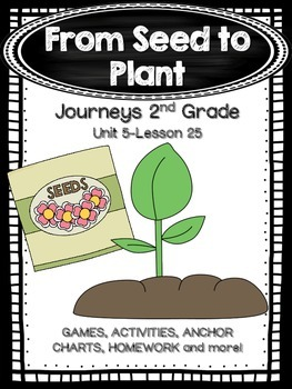 From Seed to Plant Journeys 2nd Grade (Unit 5 Lesson 25)