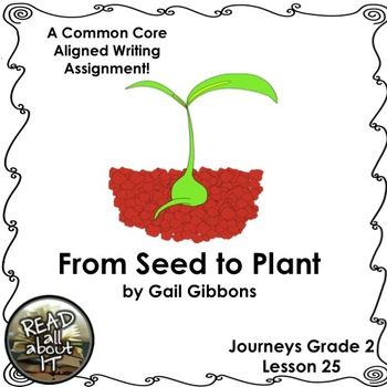 From Seed to Plant-Journeys Grade 2-Lesson 25