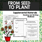 From Seed to Plant -  Journeys Second Grade Week 25