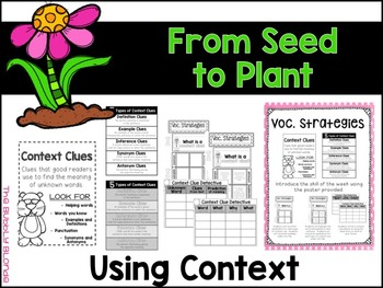 From Seed to Plant Unit 5, Lesson 25 Journeys Print & Go