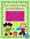 From Seed to Plant by Gail Gibbons Vocabulary Practice, De