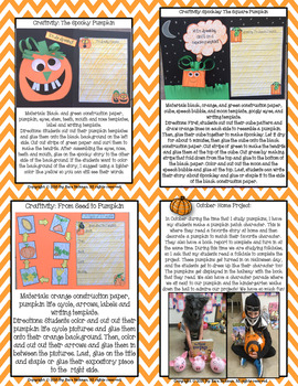 From Seed to Pumpkin: A Thematic Unit Grades 1-3