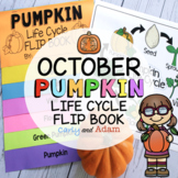From Seed to Pumpkin Life Cycle Flip Book