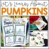 Pumpkin Unit + Virtual Field Trip