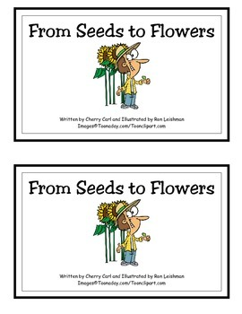 From Seeds to Sunflowers Spring Time Reader
