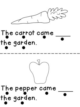 From Sight Word Reader Freebie