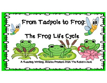 From Tadpole to Frog:  The Frog Life Cycle