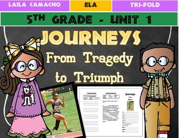 Journeys Grade 5 Trifold (From Tragedy to Triumph)
