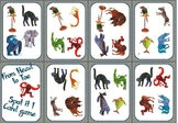 From head to Toe - Spot it! Game cards