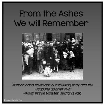 From the Ashes We Will Remember - Holocaust