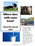From the Cow to You! Learn how milk is made!