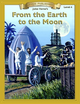 From the Earth to the Moon RL4.0-5.0 flip page EPUB for iP