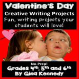Valentine's Day Writing Projects for Upper Elementary Students