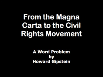 From the Magna Carta to the Civil Rights Movement