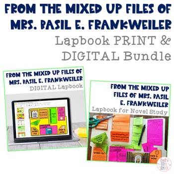 From the Mixed Up Files of Mrs. Basil E. Frankweiler Lapbook for Novel Study