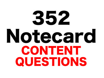 From the Mixed-Up Files of Mrs. Basil 352 Content Questions Whiteboard Game