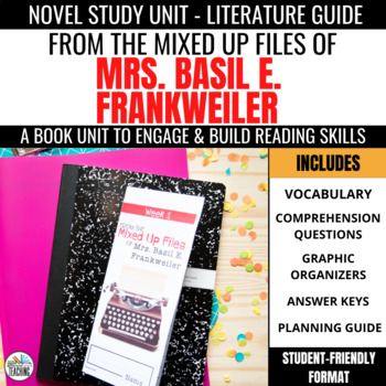 From the Mixed-Up Files of Mrs. Basil E. Frankweiler Foldable Novel Study Unit