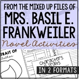From the Mixed Up Files of Mrs. Basil E. Frankweiler Novel Study Unit Activities